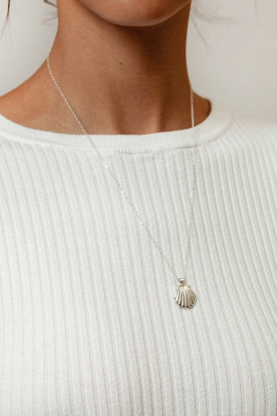 Silver Marcel Necklace