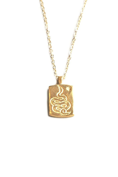 Gold Ophidian Necklace