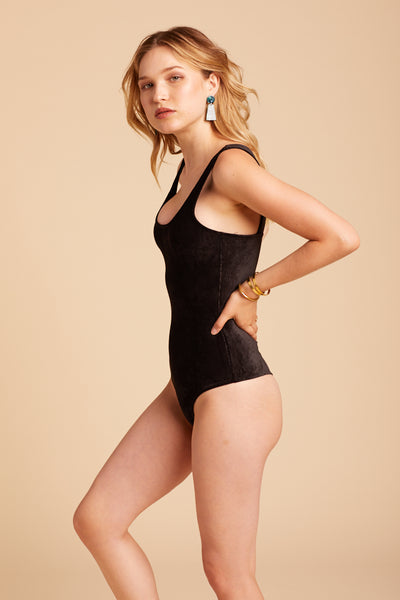 Black Laurel Bodysuit