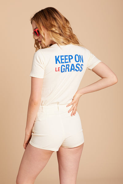 Keep On Le Grass Tee