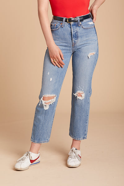 Authentically Yours Wedgie Straight Jean