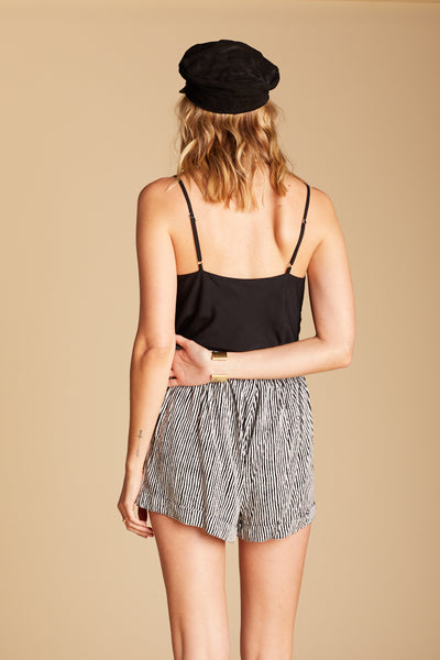 Stripe Elodie Shorts