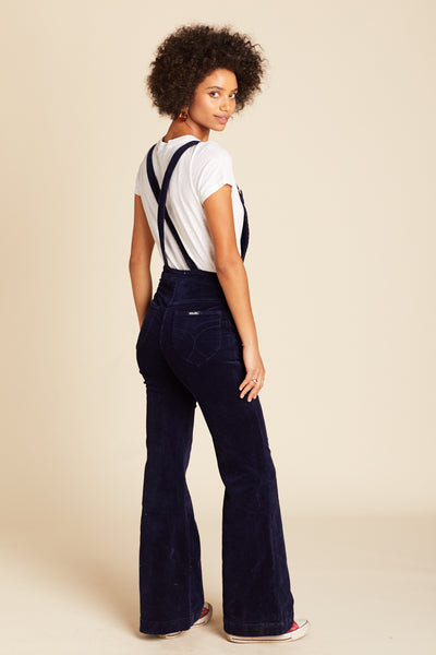 Midnight Cord Eastcoast Flare Overall