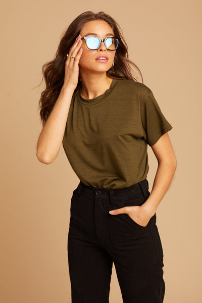 Olive Green Mick Tee