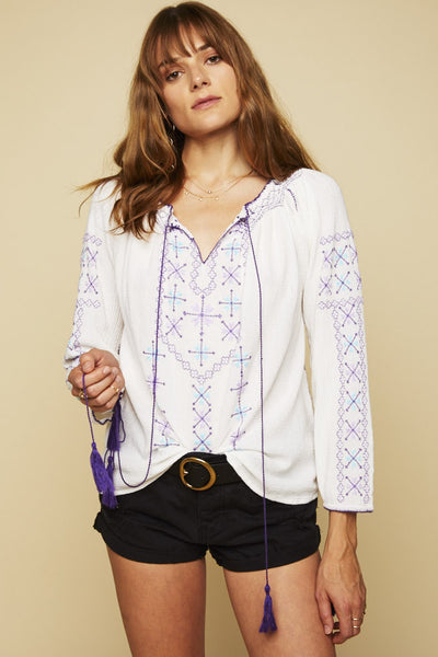 Cara Embroidered Tunic