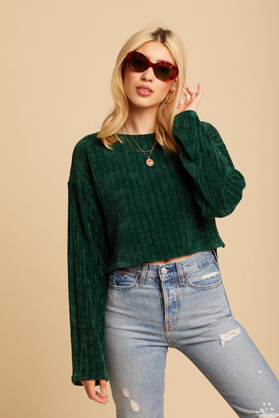 Emerald Aspen Sweater