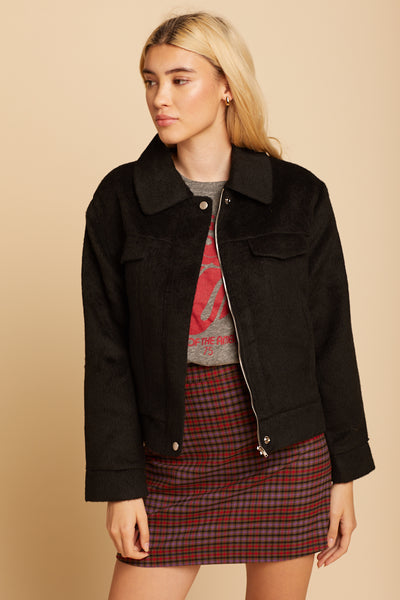 Black Lenu Jacket