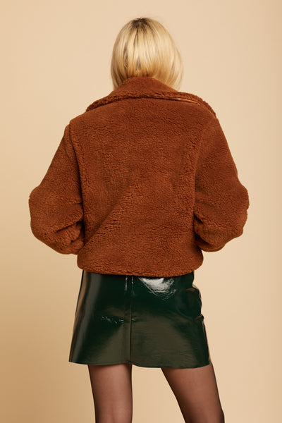 Brown Dede Jacket