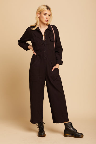 Black Charlie Jumpsuit