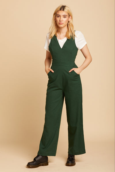 90s Green Old Mate Jumpsuit