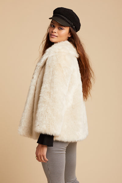 Natural Fur Ever Mine Jacket