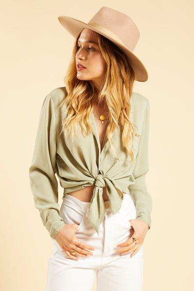Palm Green Cuba Libre Top