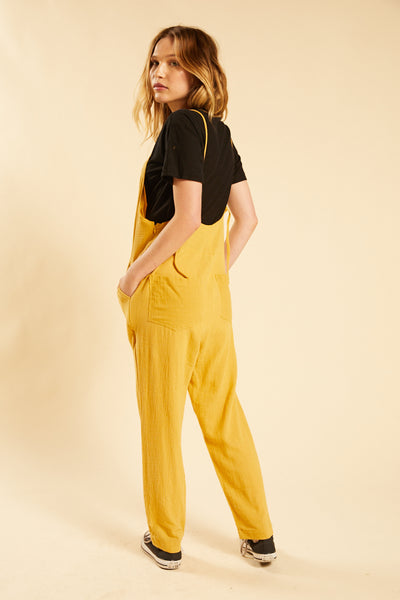Yellow Miko Overall