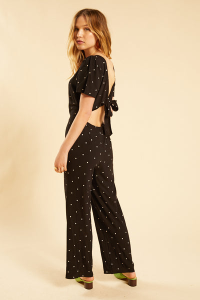 Black On The Bright Side Jumpsuit