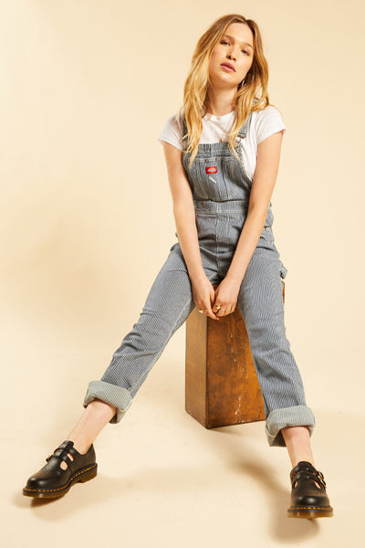 womens grey overalls