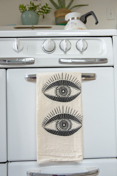 Seeing Eyes Tea Towel