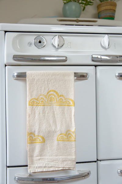Cloud Tea Towel