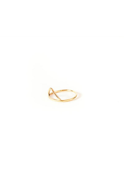 Gold Apex Ring