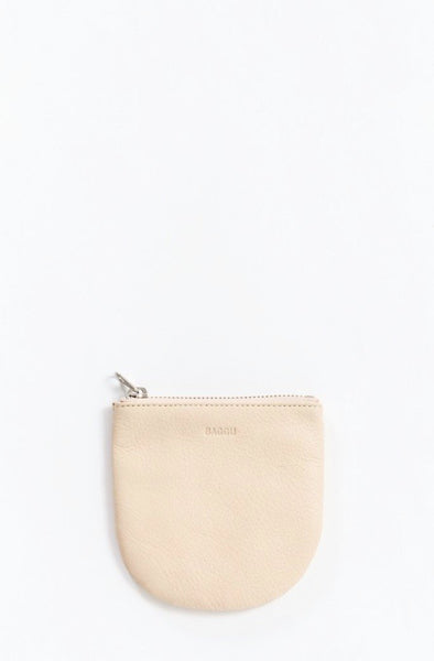 Natural Small U Pouch