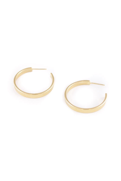 Gold Zella Hoops