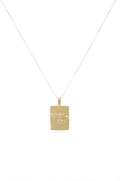 Gold Pinky Swear Necklace
