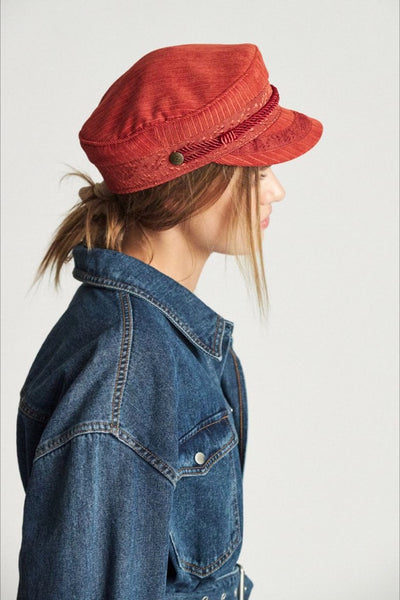 Red Clay Albany Cap