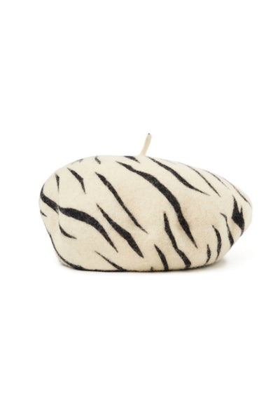 White Tiger Audrey Beret