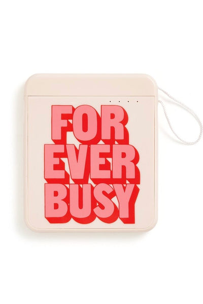 Forever Busy Back Me Up Mobile Charger