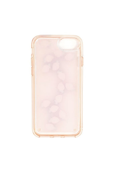 Strawberry Floating Icons iPhone Case