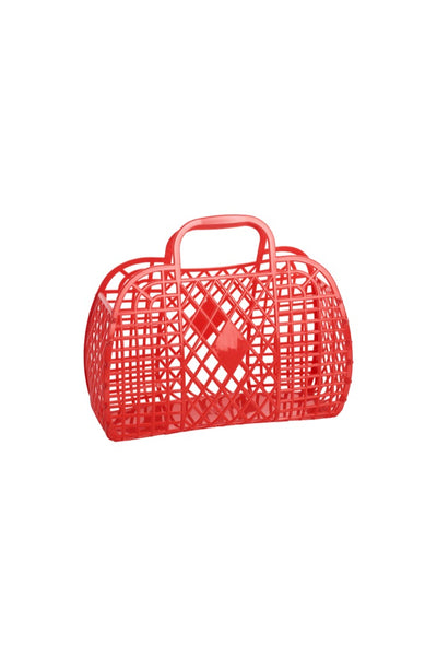 Small Red Retro Basket