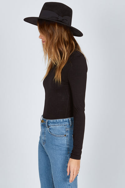 Black Felt You Up Hat