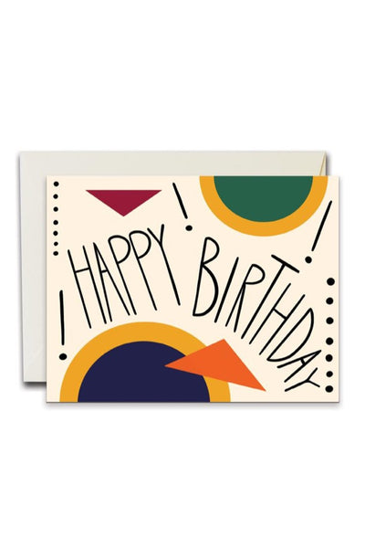 Birthday Shapes Card
