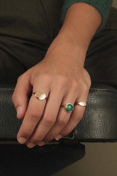 Malachite Bubble Ring