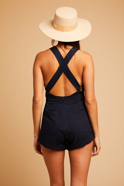 Navy Weekend Romper