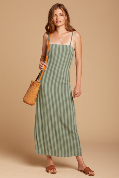 Sage Hidden Cove Maxi Dress