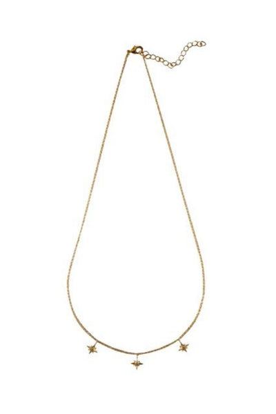 Gold Cleo Necklace