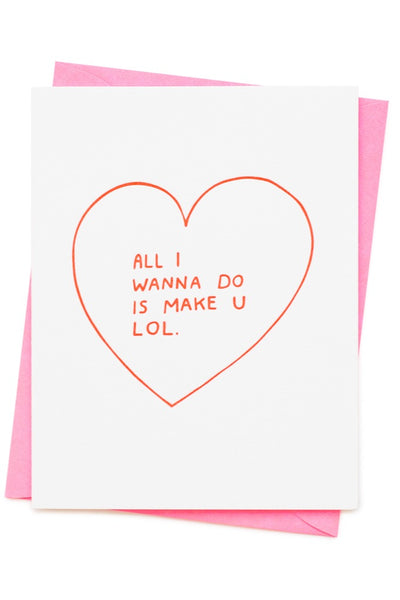 Make You LOL Card