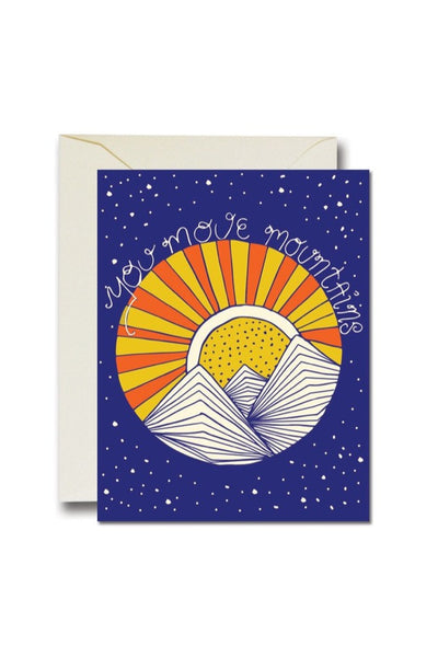 You Move Mountains Card