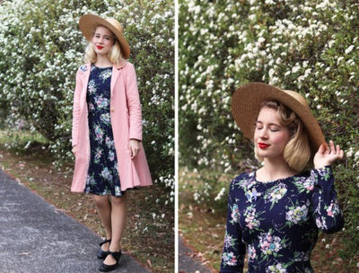 Parisian Florals with Gracefully Vintage