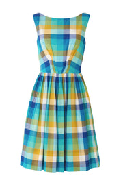 Abigail Cote D'Azur Plaid Dress