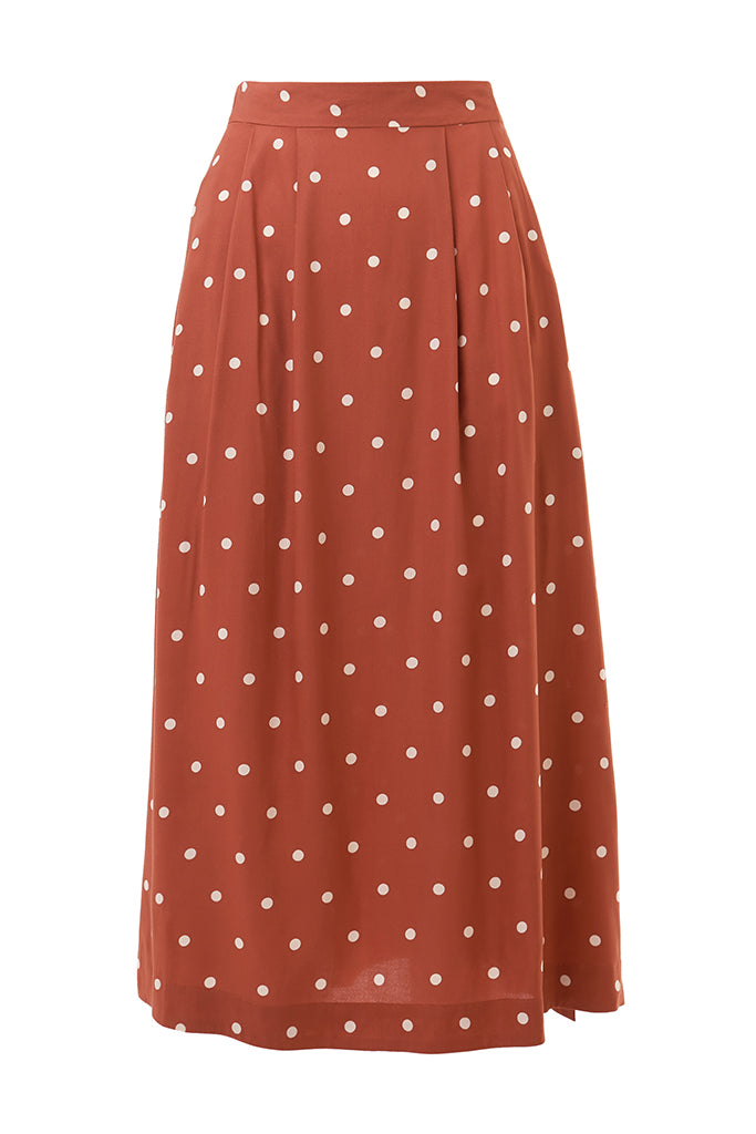 Briony Desert Rose Dot Skirt