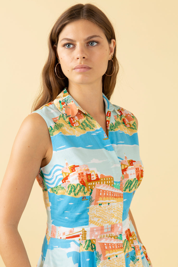 Clara Sorrento Summer Shirt Dress