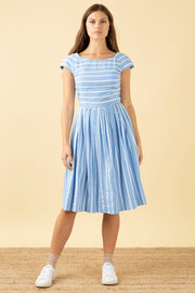 Claudia Seaspray Stripe Dress