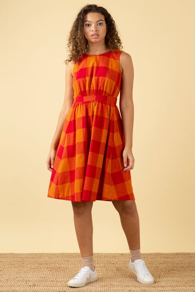 Lucy Heatwave Check Dress