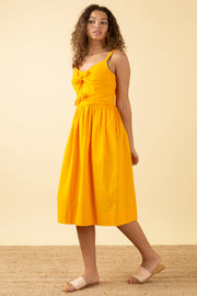 Salma Sunshine Yellow Dress