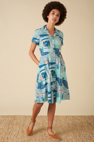Kate Le Maroc Shirt Dress