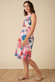 Lucy Pink Asilah Floral Dress