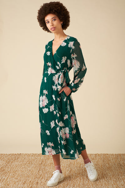 Luna Casablanca Daisy Wrap Dress
