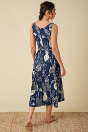 Margot Berber Baskets Midi Dress
