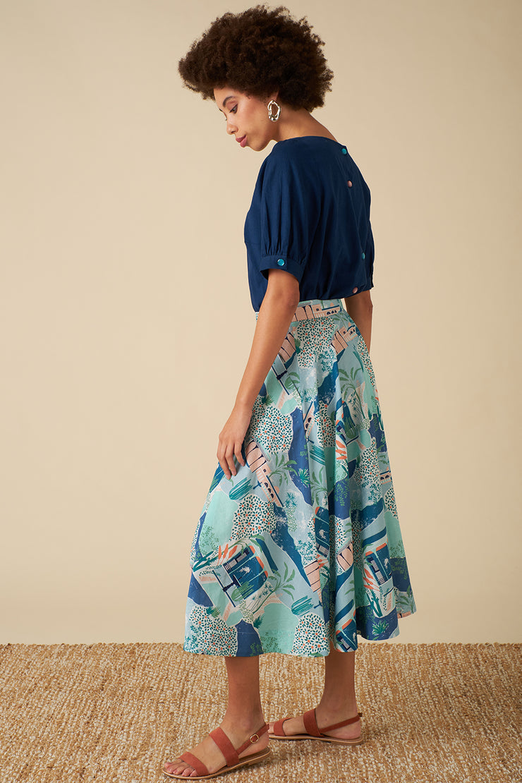 Sandy Button Le Maroc Skirt